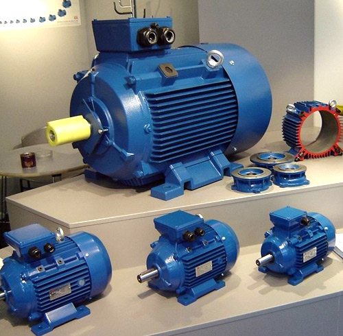 REMX Three Phase Multi-Mount Electric Motors